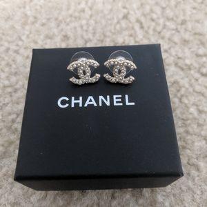 22f812dd113d60 luxcellent. 1. CHANEL. Chanel turnlock pearl earrings
